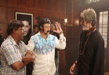 Balakrishna In Amitabh Sarkar Movie Set