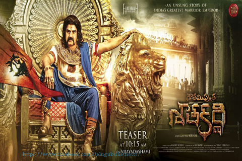 balakrishna gouthami putr shathakarni movie new look