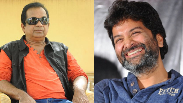 brahmanandam hero in trivikram movie
