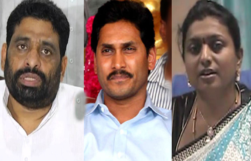 tdp mlc buddha venkanna counter on jagan and roja
