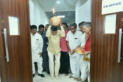 Andhrapradesh velagapudi new secretariat ruling start
