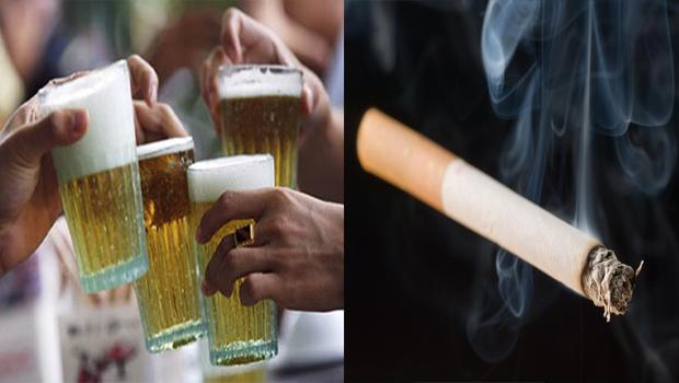 village people spend more money on alchol drinking smoking health purpose few money