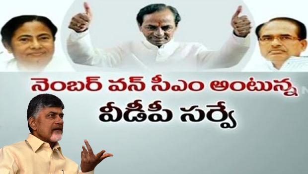 vdp associate survey on cms ruling kcr better than chandrababu