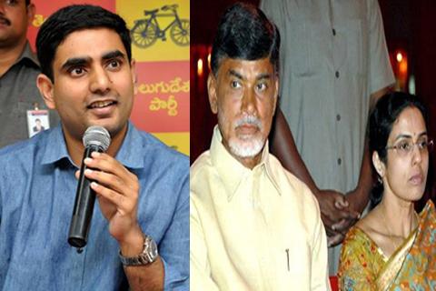 nara lokesh said chandrababu and bhuvaneswari assets details
