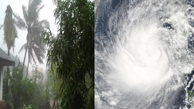 kaint cyclone no danger