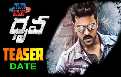 ram charan dhruva movie teaser release dasara