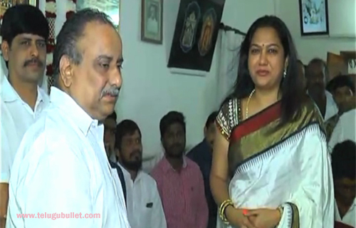 actress hema attend kapu meeting