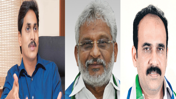 jagan maintais silence on the family issue