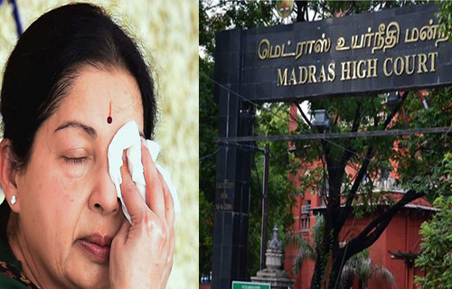 madras high court said jayalalitha health details told people