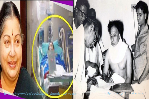 jayalalitha going hospital met mg ramachandran now all politician leaders coming hospital met jayalalitha