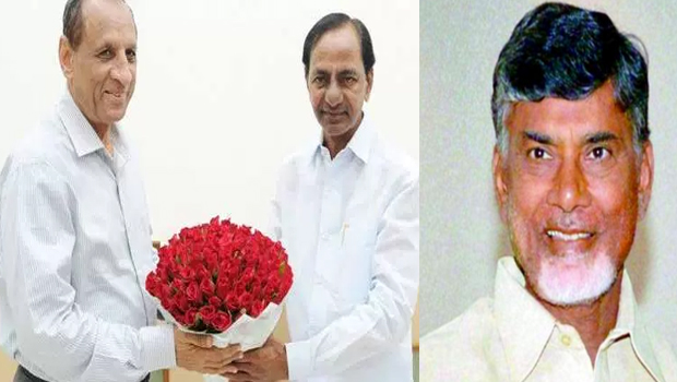 kcr send governor to ask chandrababu hyderabad secretariat issue