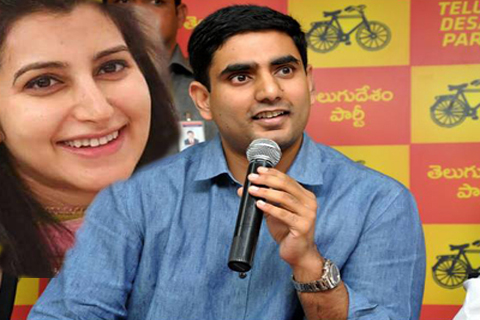 nara lokesh said his wife assets details