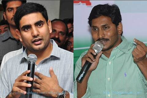 nara lokesh thanks jagan