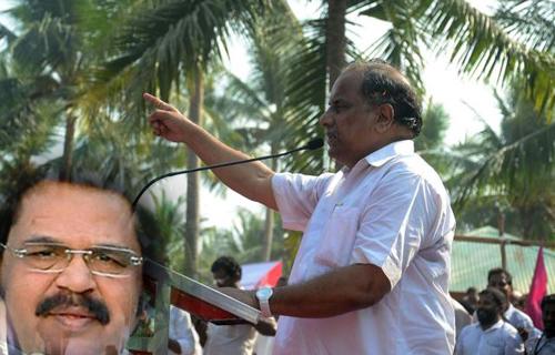 kapu leader mudragada thinking  walking kapu reservation purpose