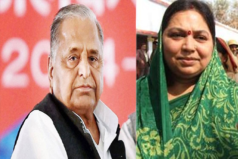 mulayam singh yadav second marriage story