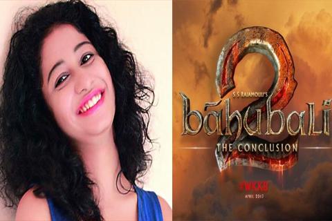 priya naidu in bahubali2 movie