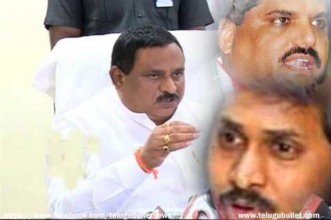 home minister chinarajappa angry jagan botsa