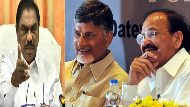 chandrababu venkaiah naidu between secrete relationship