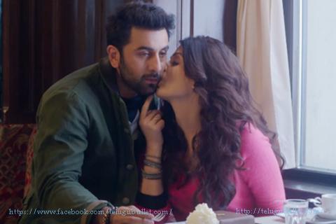 aishwarya rai romance ranbir kapoor
