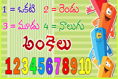 telugu numbers theory names