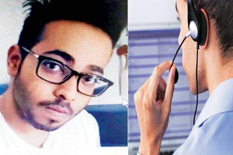 thane call center scandal manager shaggy thakkar