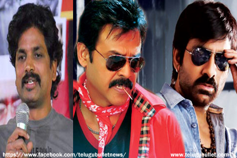 veeru potla said venkatesh raviteja multistarrer movie