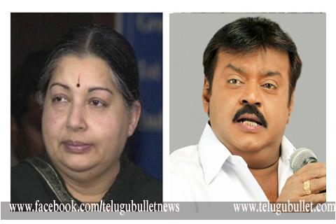 vijayakanth comment on jayalalitha health