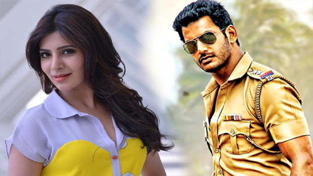 samantha acting with vishal movie