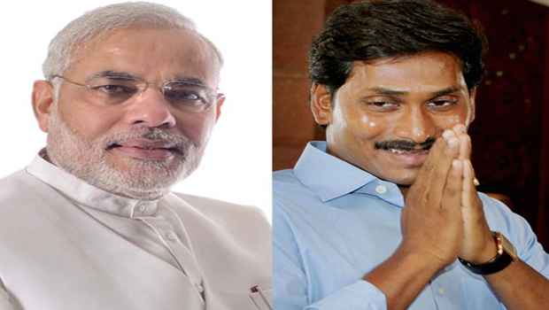 jagan is afraid of narendra modi
