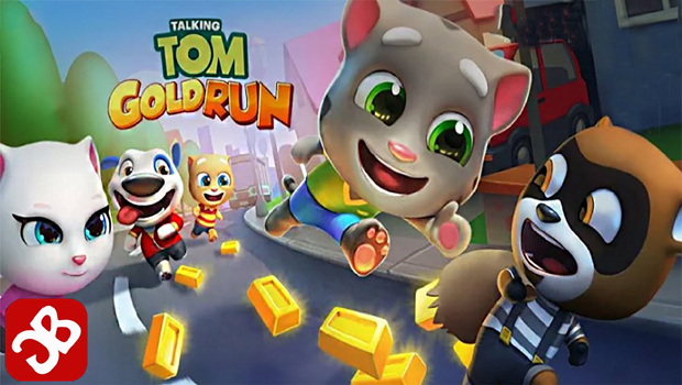 talking tom gold run is top in trading,talking tom,gold talking tom,latest games,top trading games,top games in trading,talking tom top rating