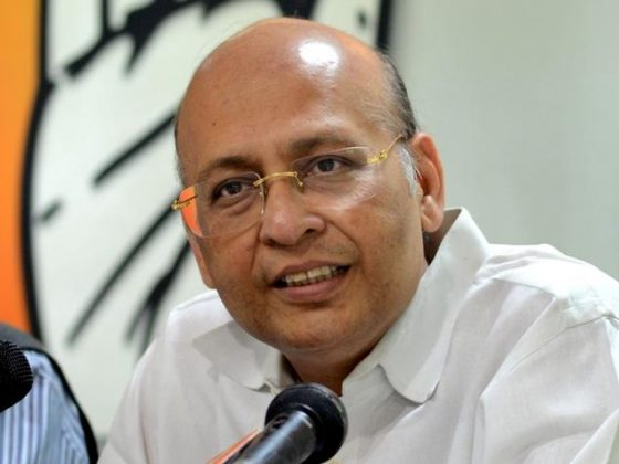 Abhishek Manu Singhvi from Congress has been imposed a fine of 57 crores by IT department