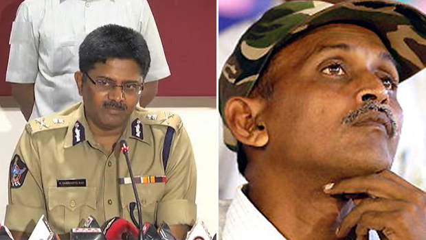ap dgp sambasiva rao comment on maoist leader rk