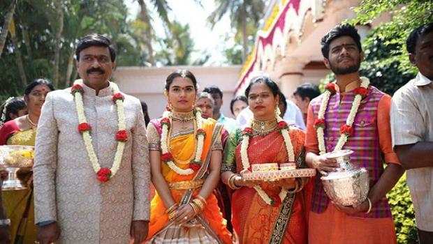 Gali janardhan reddy Daughter brahmani wedding