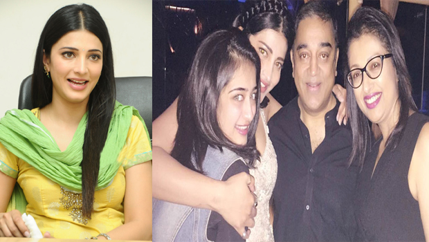 shruthi hassan said about kamal hassan and gouthami part ways