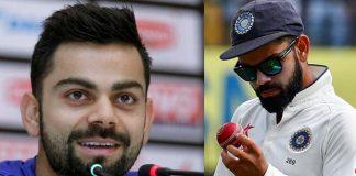 Virat Kohli responds to ball tampering