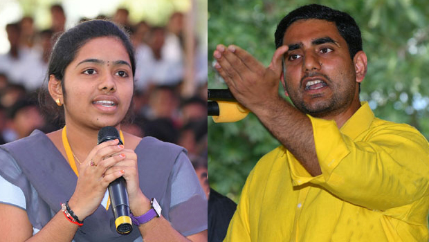 chalapathi engineering college student asked shocking question to nara lokesh