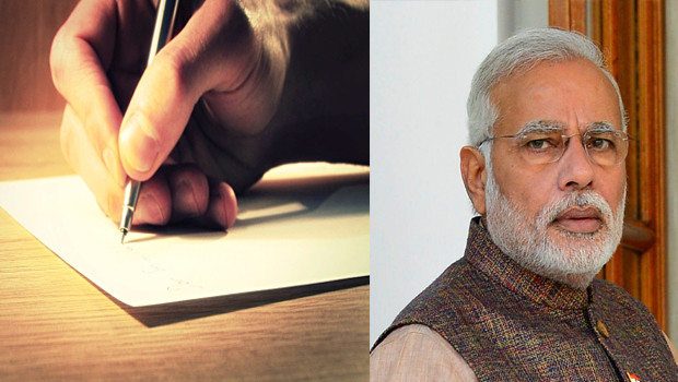 hyderabad middle class man wrote letter to modi about 500 and 1000 rs notes banned