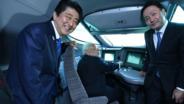 bullet train driver modi