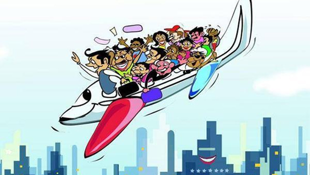 central govt increase flight tickets charges
