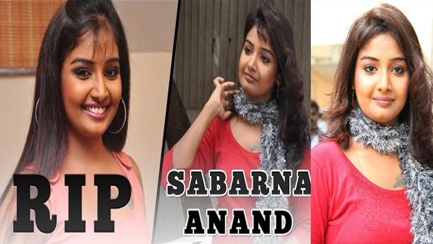 tamil serial actress sabarna anand commits suicide