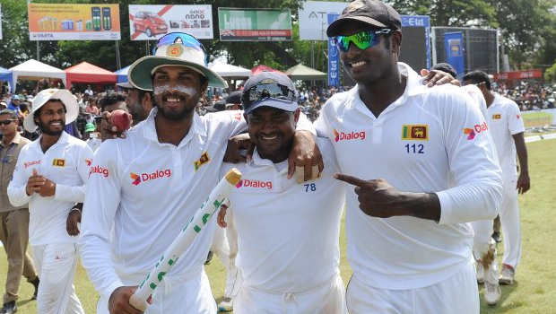 sri lanka won test series in zimbabwe