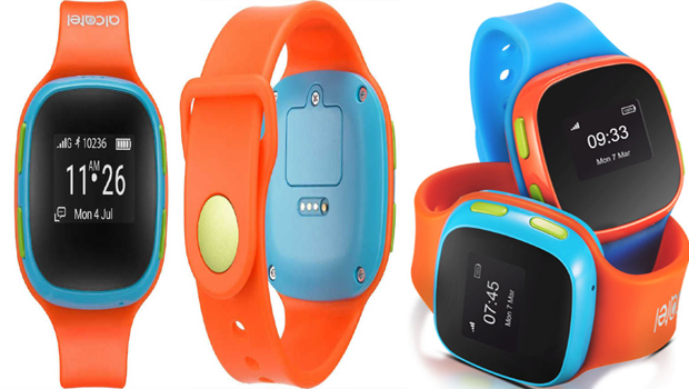 Alcatel MoveTime - Track & Talk GPS-Enabled Smartwatch for Kids Launched at Rs. 4,799