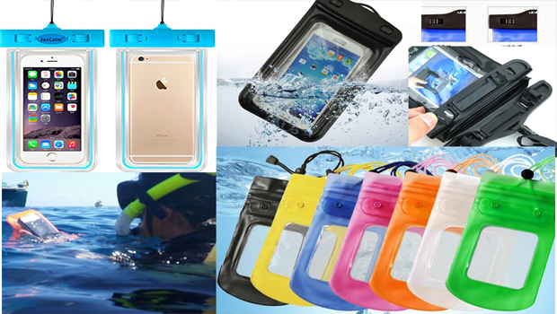 mobile waterproof pouch