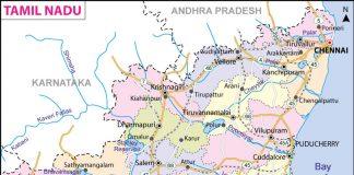 Tamilnadu Map