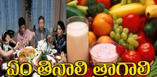 what we eat and drink in our daily life