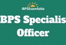 ibps specialist officer jobs
