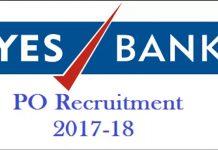 Yes Bank Clerk PO Jobs Opening 2017