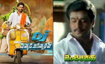 allu arjun duvvada jagannadham movie copied from arjun gentleman movie