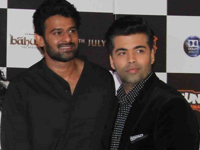 Karan Johar Movie Deals With Prabhas