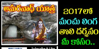 Amarnath Yatra 2017 Details Exclusive In Telugu Bullet
